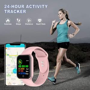 Image 2 - CYUC NY07 スマート腕時計 sms コールリマインダー心拍数モニター血圧 IP67 防水用男性女性スマートウォッチ