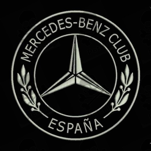MERCEDES BENZ Iron Patch Toppa Ricamata Gestickter Patch Brode Remendo Bordado Parche Bordado