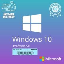 WIND0WS 10 Pro Key Ⓒ Win10 32/64-Bit FULL VERSlON ProduktschlüsseI Activation Code 2 Min
