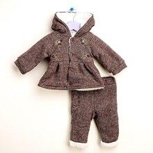 Ebebek для маленьких девочек; комплект из мягкого кардигана и брюк