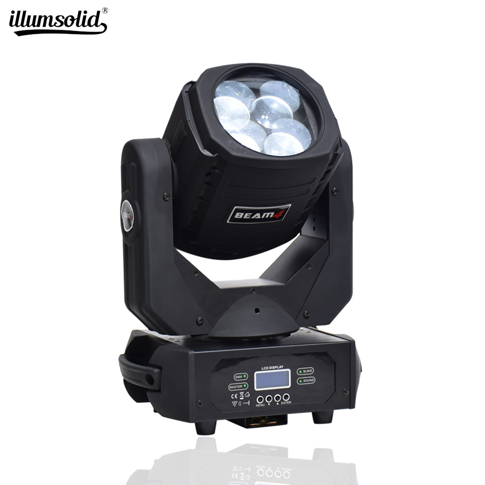Led Wash Moving Head 4x25w Super Beam Light Stage Effect Lighting Dmx Dj Equipment For School Show , Lights Shows