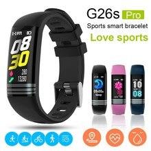 G26S Smart band Blood Pressure Heart rate Call reminder Bracelet Fitness Tracker Wristband fitness bracelet reloj