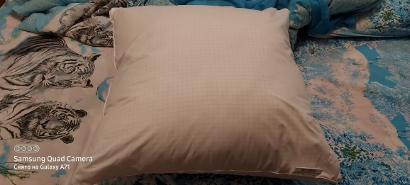 """Pillow """"Antistress"""" collection Comfort. Production company Ecotex(Russia).