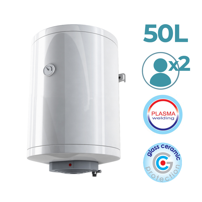 OPTIMA - Electric Water Heater (Boiler) With Vertical Installation.