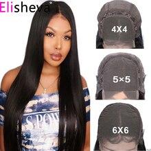 5x5 Lace Closure Wig 6x6 Transparent Lace