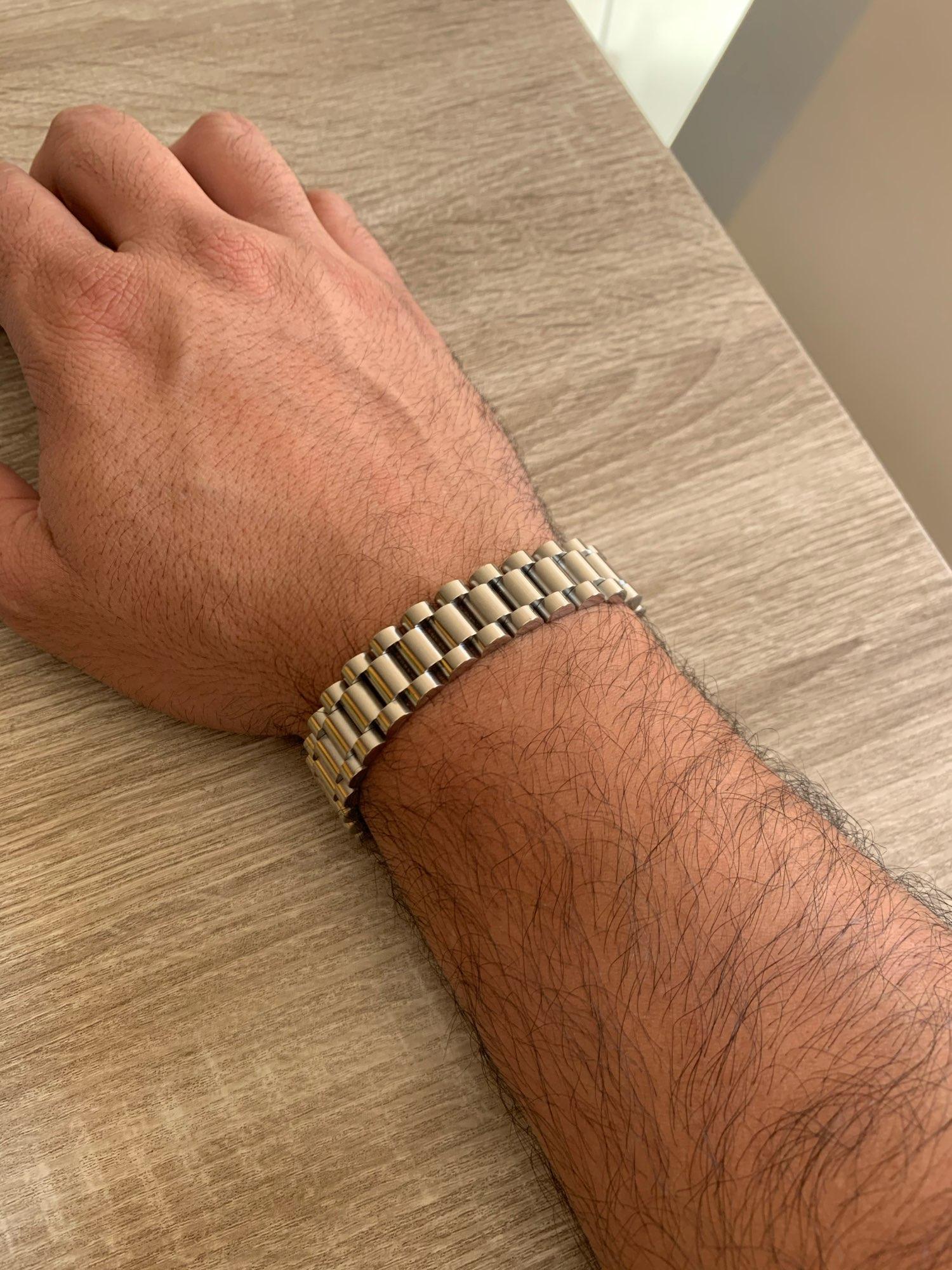 צמיד רצועת שעון לגבר photo review
