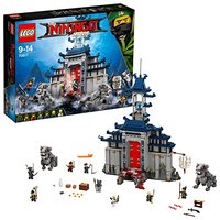 LEGO Ninjago totally definitive weapon Temple, Ninja building construction toy (70617) , color/model assortment
