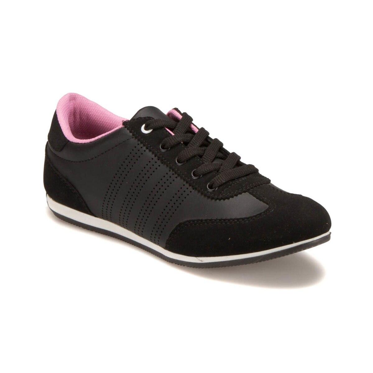 FLO U1204 Black Women 'S Sneaker Shoes Carmens