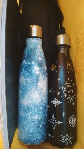 Water Bottle Stainless Steel Thermos Vacuum Insulated Cola Cup Bottle 500ML Starry Night  Water Bottles Travel Sport Gym Bottles|Water Bottles|   - AliExpress