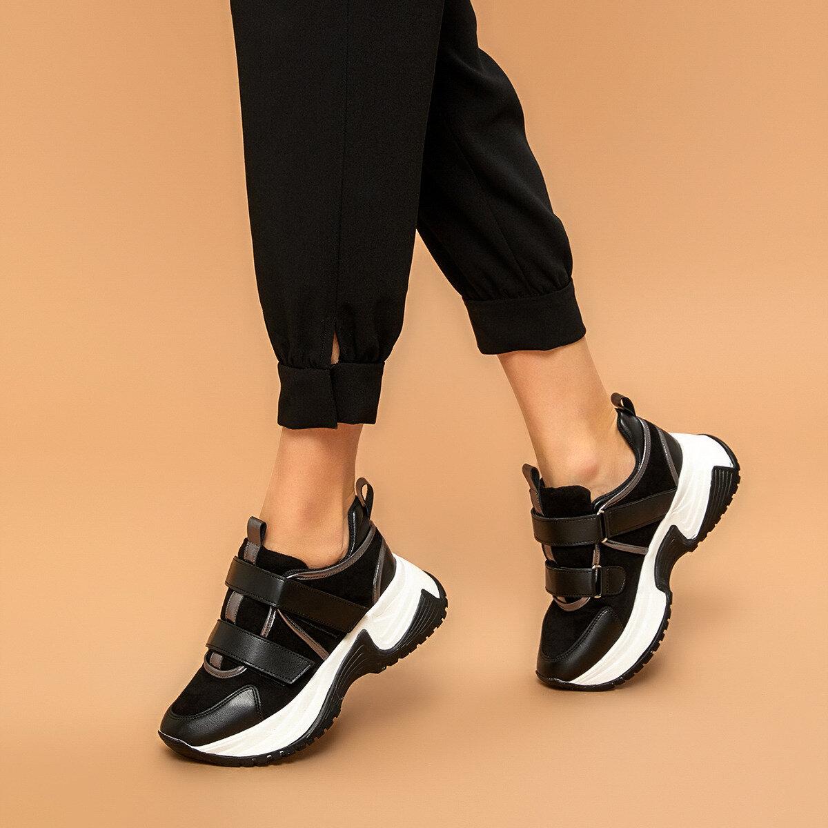 FLO 19SF-2057 Black Women 'S Sneaker Shoes BUTIGO