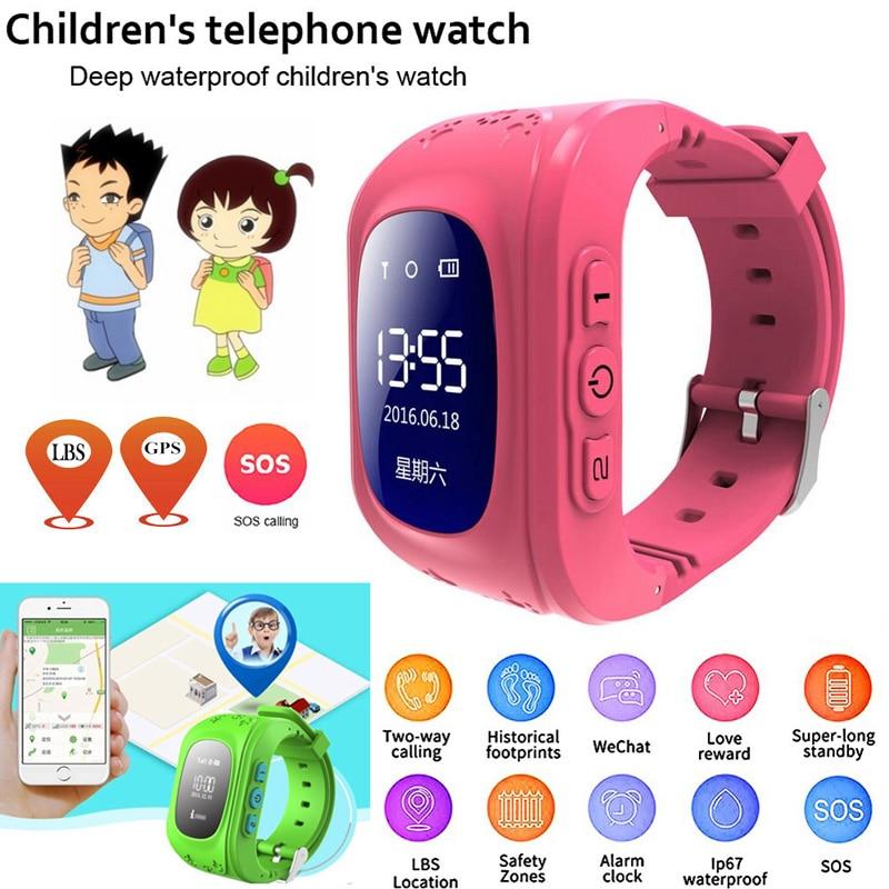 Детские Смарт-часы Anti Lost Q50, OLED, детские GPS трекер, SOS монитор, позиционирование, телефон, GPS, детские часы, IOS, Android, PK, Q12, S9, часы