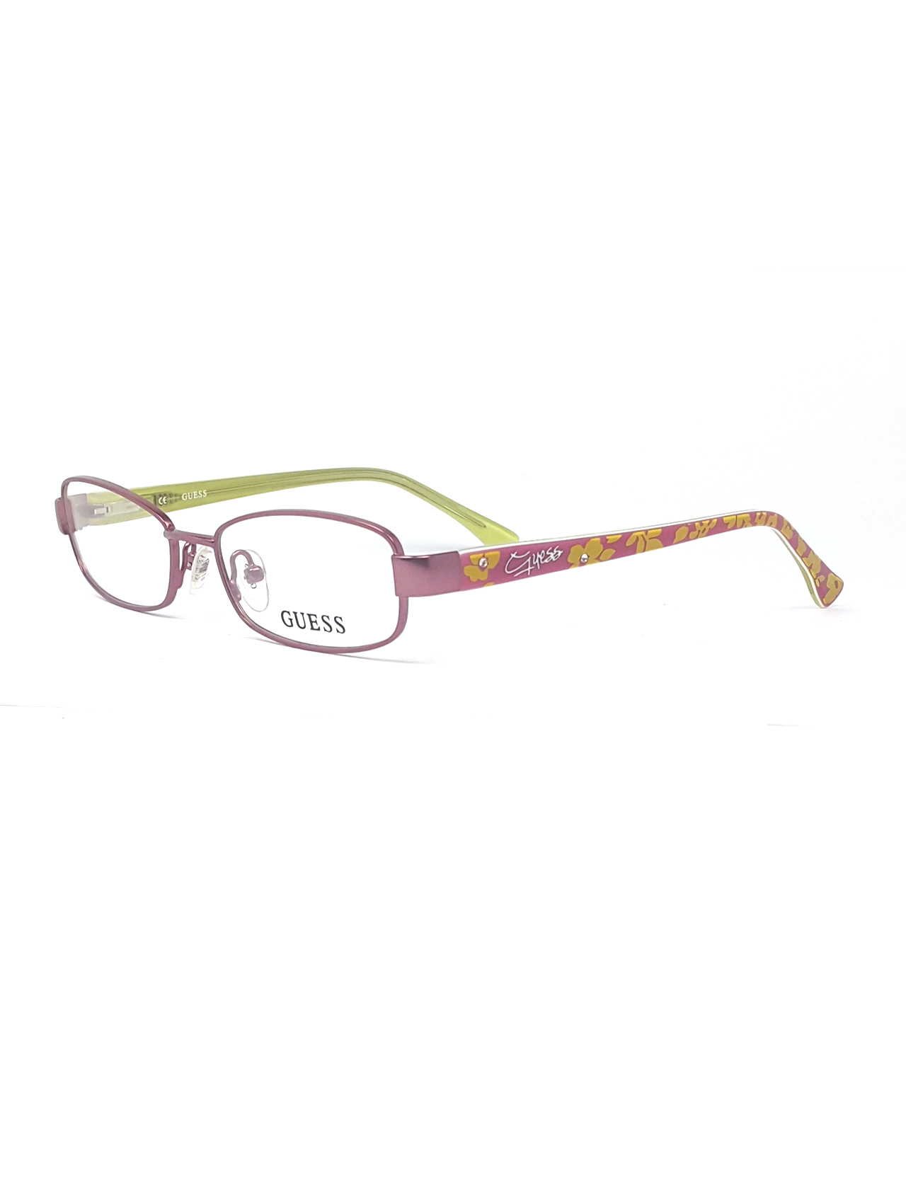 Markamilla Children Reading Glasses Frame Demo Glasses Eyewear Transparent High Quality ChildrenGuess GU 9096 PNK фото