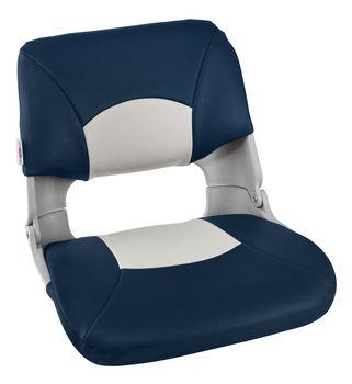 Armchair folding soft skipper, color gray/blue 1061019