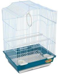 Клетка Triol 3112 K эмалированная для птиц, 34,5*28*50 см.