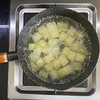 金帝集成灶美食推荐之孜然香肠土豆丁的做法图解2
