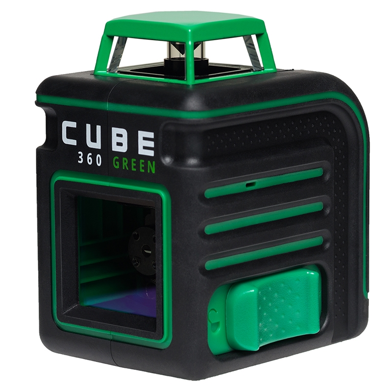 Laser level automatic ADA CUBE 360 Green Ultimate Edition (Horizontal line 360 °, vertical, tripod, case, уровень ada cube 2 360 green ultimate edition
