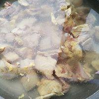 """#美食说出""""新年好""""#泡笋养生土鸡汤的做法图解2"""