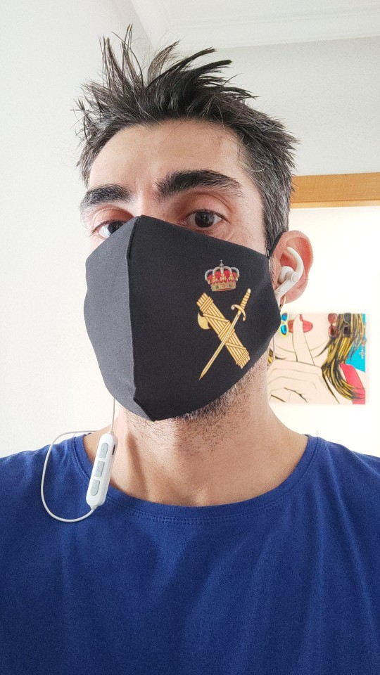 Mascarillas de España, Guardia Civil, Policía Nacional y Policía Local
