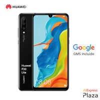 Huawei P30 Lite (4 twarde gb RAM, 128 twarde gb ROM, Google, Android, wysłane, za darmo) [wersja hiszpańska telefonu komórkowego] plac hiszpania, telefon komórkowy, urządzenie miga