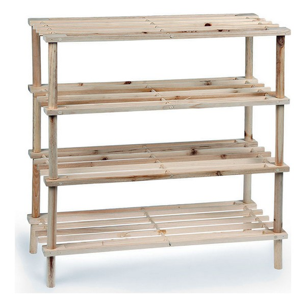 Shoe Rack Confortime Wood (4 Shelves)