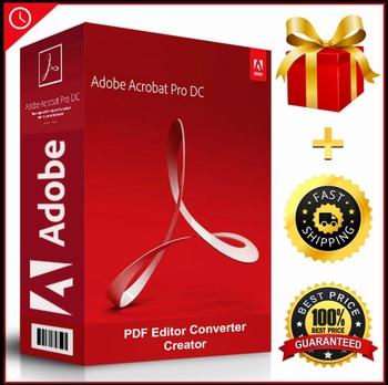 Adobe Acrobat Pro DC - 2020 - Lifetime - PDF Reader Editor Creator Converter