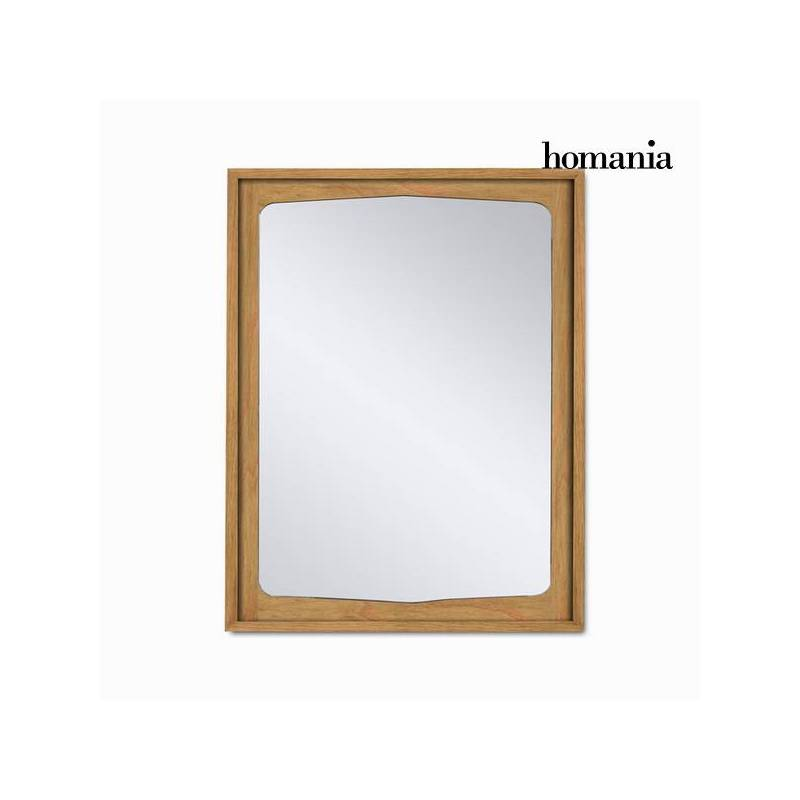 Mirror Wood Mindi (90x70x4 Cm)-The Collection Let's Deco By Homania