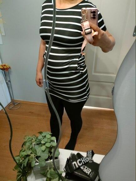 Simple Fashion Dress Lady Summer Large Size Mini Swing Dress Casual Stripe Criss Cross Short Sleeve T Shirt Mini Dress|Dresses|   - AliExpress