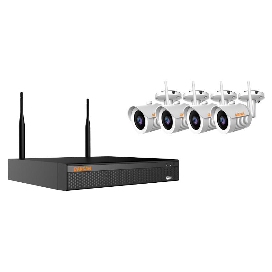 Surveillance Kit Carcam Kit-5m On 4 Camera High Resolution