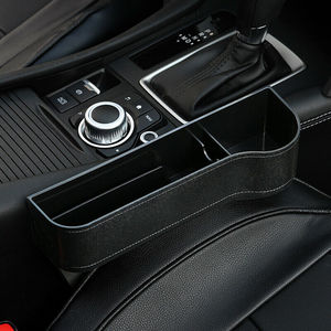 Image 5 - Car Seat Gap Slit Pocket Catcher Organizer Storage Box Phone Bottle Cups Holder Universal Auto Interior Driver Seat Tidying Box