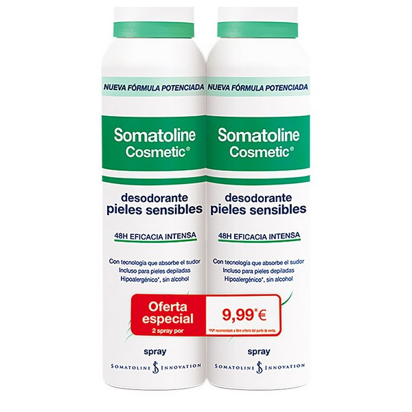 Spray Deodorant Somatoline (2 Pcs)