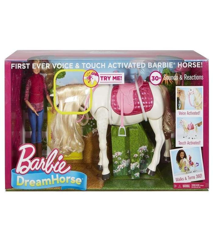 Doll Barbie And Horse Superinteractio 30 Action Toy Store