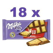 Milka LU tablet 87g, box with 18x87g