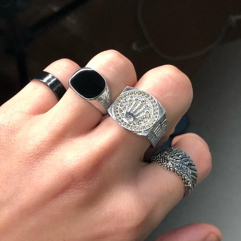 טבעת טיטניום מהממת דגם 0156 לגבר photo review