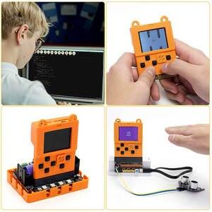 Image 1 - Elegrow Meowbit consola portátil programable, para Microsoft Makecode Arcade, pantalla a Color TFT de 1,8 pulgadas, 160x128