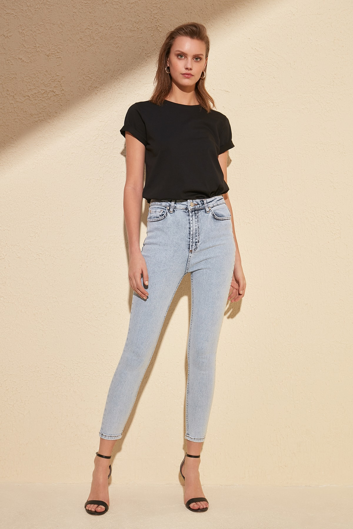 Trendyol High Waist Skinny Jeans TWOSS20JE0104