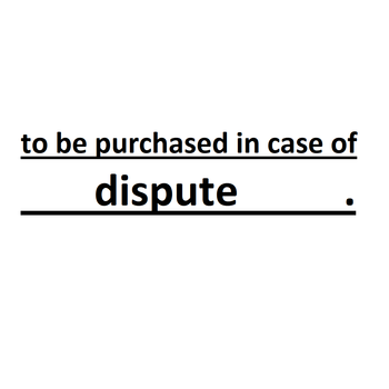 to be purchased in case of dispute (please buy when the seller recommends) image