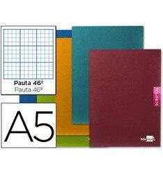 Блокнот LEADERPAPER SCRIPTUS A5 48 листов 90 г/м2 полосатый N 46 5 шт
