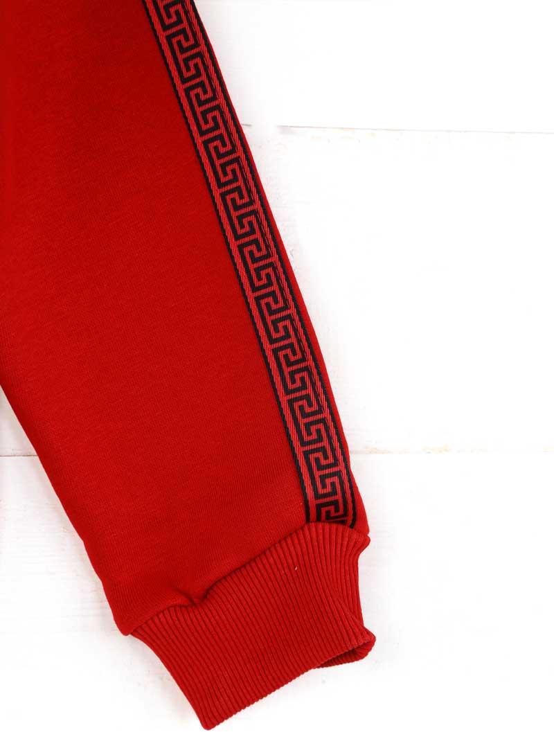 019-1828-002 Kırmızı Kışlık Kız Çocuk Sweatshirt (3)
