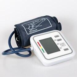 Automatic Blood Pressure Monitor Sphygmomanometer Digital PR Pressure Meter Tonometer For Measuring Arterial Pressure LCD Screen