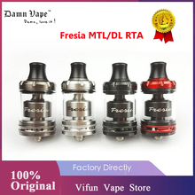 Original DamnVape Fresia MTL RTA tank 2ml/3.5ml 22mm Single Coil AFC System Danm Vape Fresia DL Electronic Cigarette Atomizer|Electronic Cigarette Atomizers|   - AliExpress