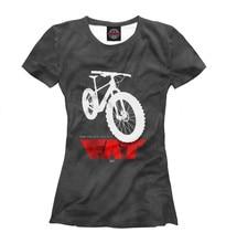 Girls's T-shirt fats bike