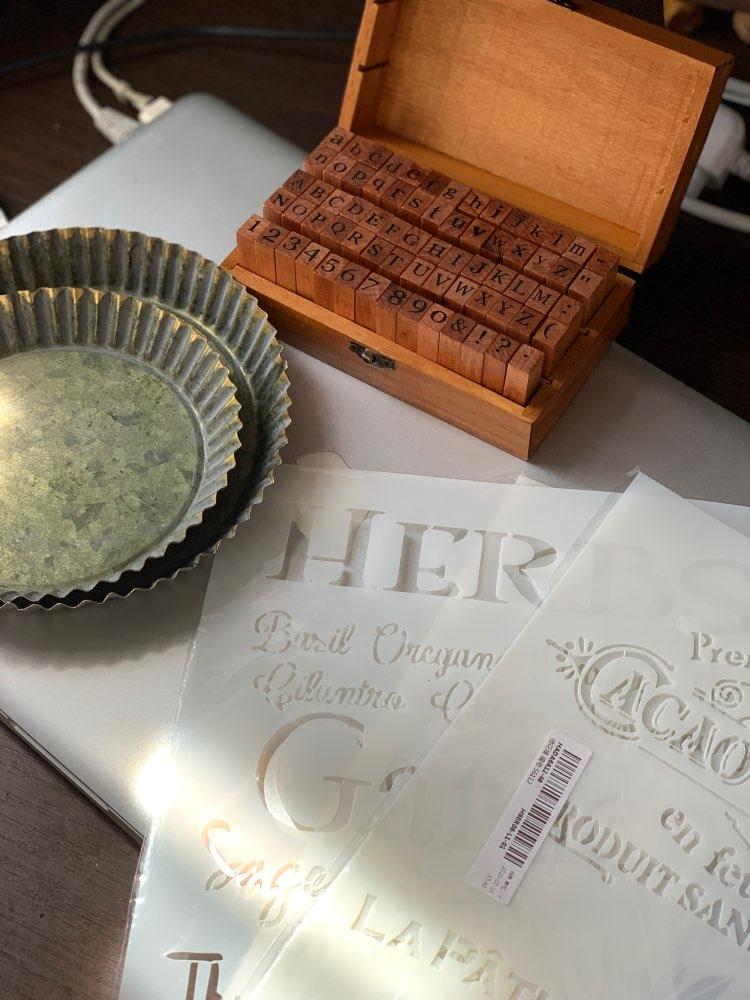 Retro Rustic Metal Plate photo review