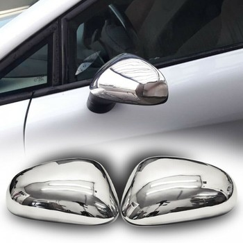 Cases Chrome rearview for Seat Leon 1P 2005-2009
