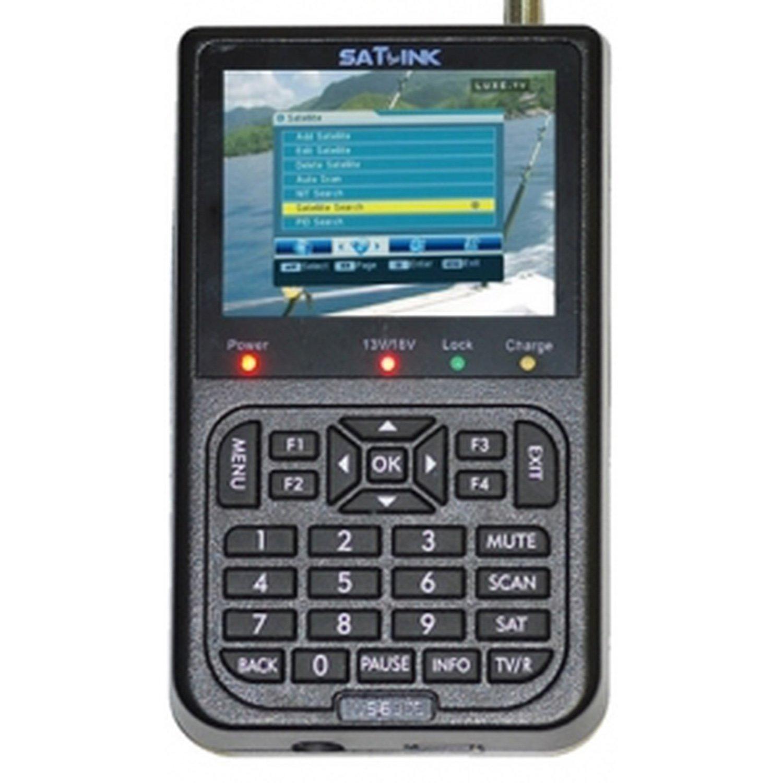 Satellite Finder SATLINK digital WS-6906 hot selling original satlink ws 6906 dvb s fta digital satellite signal meter 3 5 inch lcd hd ws 6906 satellite finder ws6906