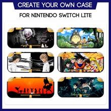 למשחקים מותאמים אישית מקרה עבור Nintendo מתג Lite TPU רך הגנת מעטפת אנימה יפני מנגה חמוד דפוס ליצור משלך