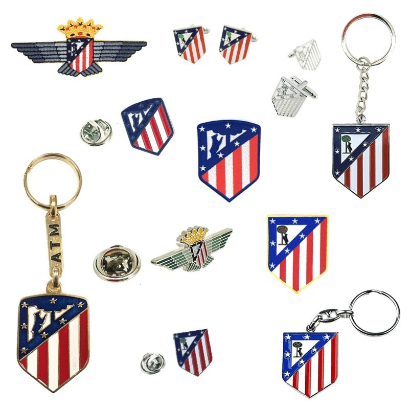 Atletico Madrid Pin Twins Atletico Madrid, Keychain Atletico Madrid, Clothing Parche Atletico Madrid