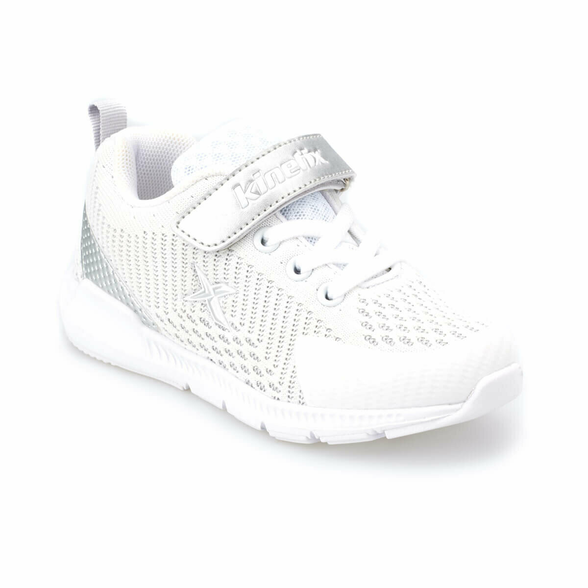 FLO ROTTEN White Female Child Running Shoes KINETIX