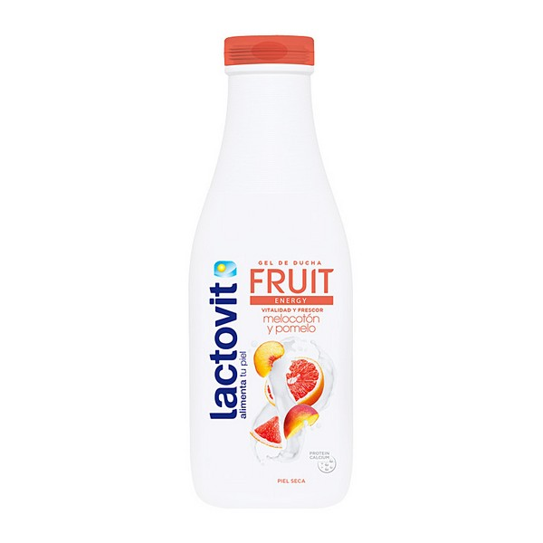 Shower Gel Fruit Energy Lactovit (600 Ml)