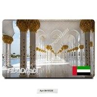 Abu dhabi emirados árabes unidos lembrança presente ímã