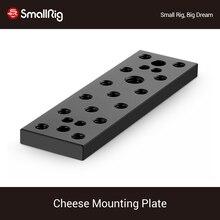 """SmallRig Formaggio Piastra A Sgancio Rapido Piastra di Montaggio Kit Con 1/4 """"E 3/8 Filettatura Fori 904"""